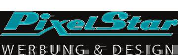 Logo der Werbeagentur PixelStar GbR |Werbung & Design