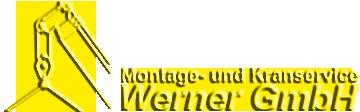 Logo vom Montage- und Kranservice Werner GmbH